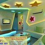 Thi công thạch cao phòng Karaoke