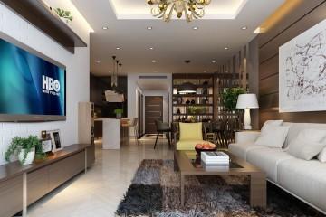 Mẫu trần phòng khách biệt thự đẹp