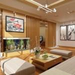 Thi công trần vách thạch cao tại chung cư Times Tower – Lê Văn Lương