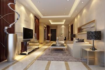 Thiết kế trần thạch cao cho phòng khách diện tích hẹp