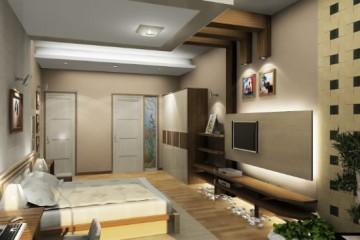 Thi công trần vách thạch cao tại chung cư Tràng An ComPlex