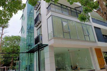 Làm trần vách thạch cao nhà biệt thự liền kề Ecopark Văn Giang Hưng Yên
