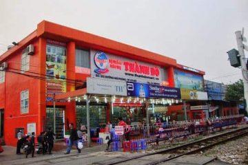 Làm trần thạch cao nhà xưởng siêu thị Thành Đô 352 Giải Phóng